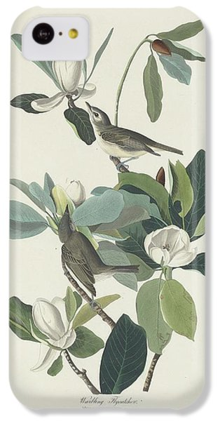 Flycatcher iPhone 5c Case - Warbling Flycatcher by Dreyer Wildlife Print Collections