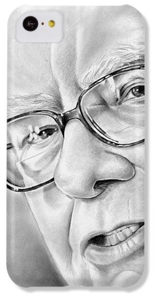 Wizard iPhone 5c Case - Warren Buffett by Greg Joens