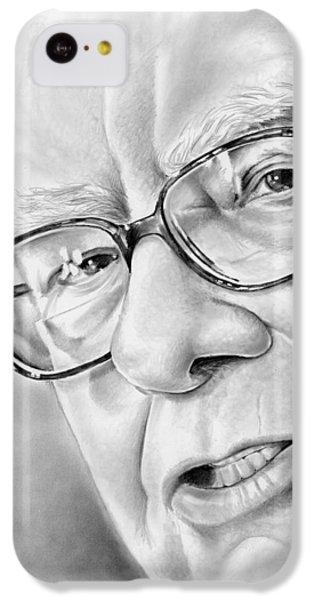 Warren Buffett IPhone 5c Case by Greg Joens