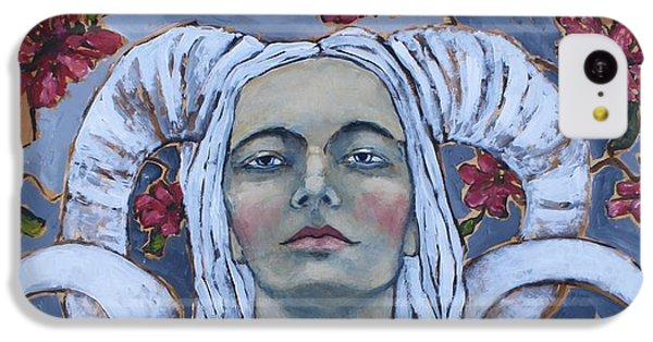 Portraits iPhone 5c Case - Warrior by Jane Spakowsky
