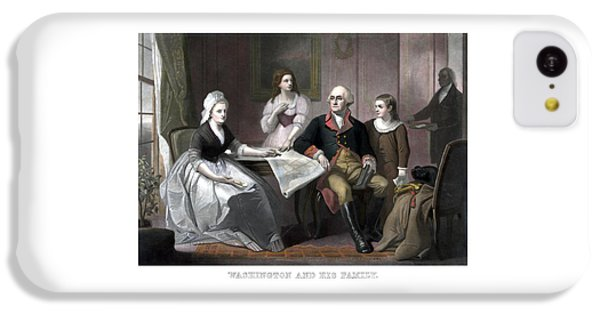 Washington And His Family IPhone 5c Case