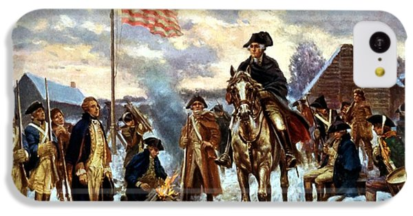 Washington At Valley Forge IPhone 5c Case by War Is Hell Store