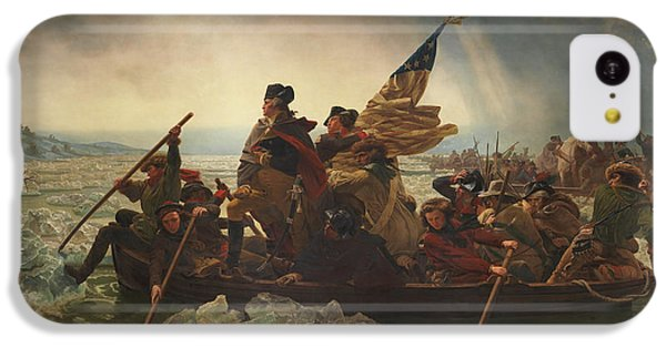 Washington Crossing The Delaware IPhone 5c Case by War Is Hell Store