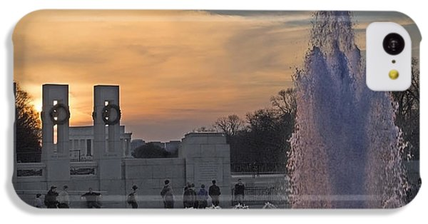 Washington Dc Rhythms  IPhone 5c Case by Betsy Knapp