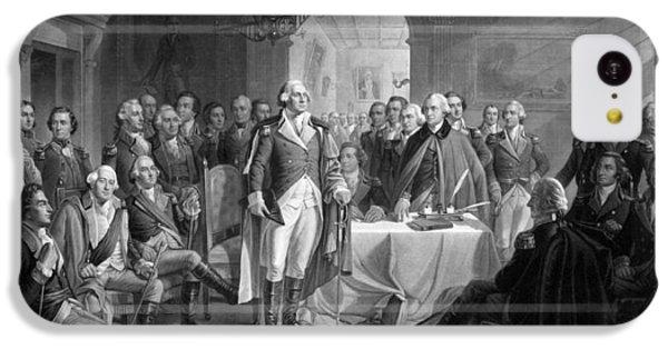 Washington Meeting His Generals IPhone 5c Case