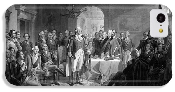 Washington Meeting His Generals IPhone 5c Case by War Is Hell Store