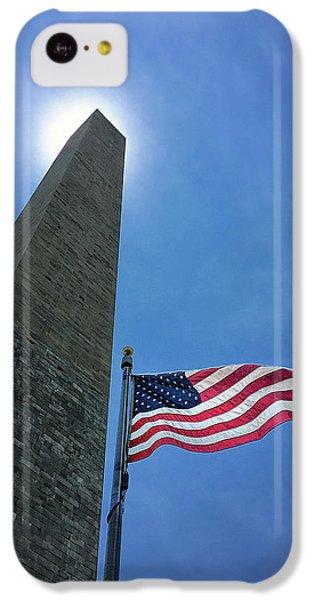 Washington Monument iPhone 5c Case - Washington Monument by Andrew Soundarajan