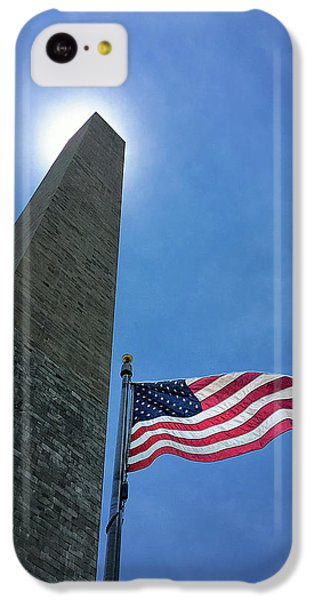 Washington Monument IPhone 5c Case by Andrew Soundarajan