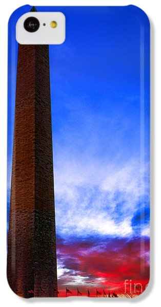 Washington Monument Glory IPhone 5c Case by Olivier Le Queinec