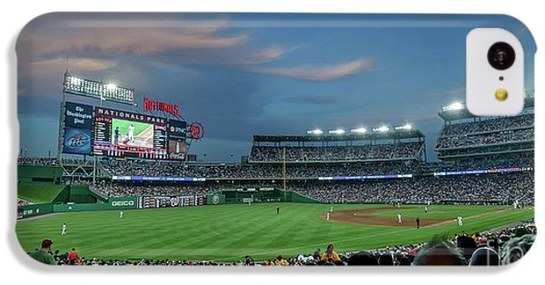 Washington D.c iPhone 5c Case - Washington Nationals In Our Nations Capitol by Thomas Marchessault