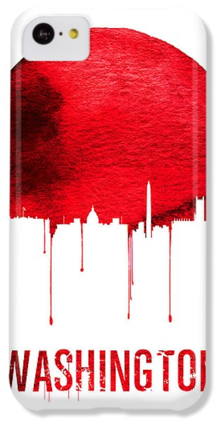 Washington Skyline Red IPhone 5c Case