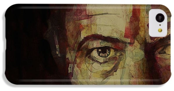 Musicians iPhone 5c Case - Watch That Man Bowie by Paul Lovering