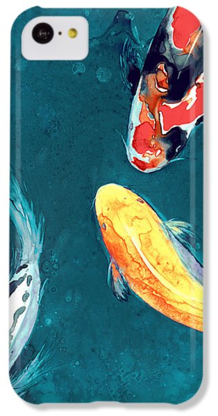 Water Ballet IPhone 5c Case by Brazen Edwards