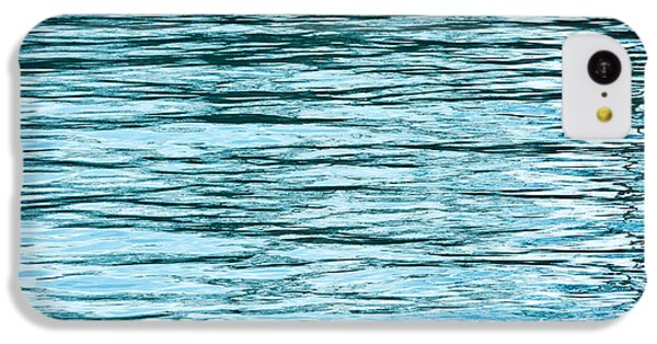 Lake Michigan iPhone 5c Case - Water Flow by Steve Gadomski