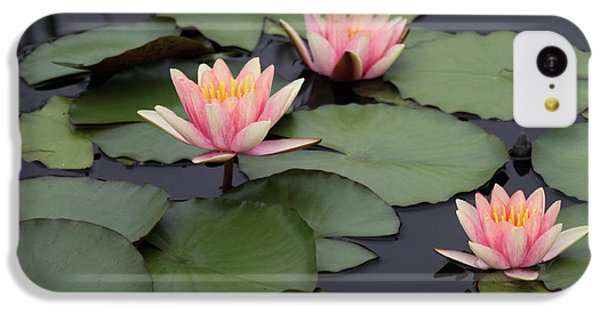 IPhone 5c Case featuring the photograph Water Lilies by Jessica Jenney