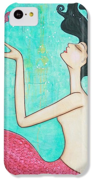 Water Nymph IPhone 5c Case by Natalie Briney
