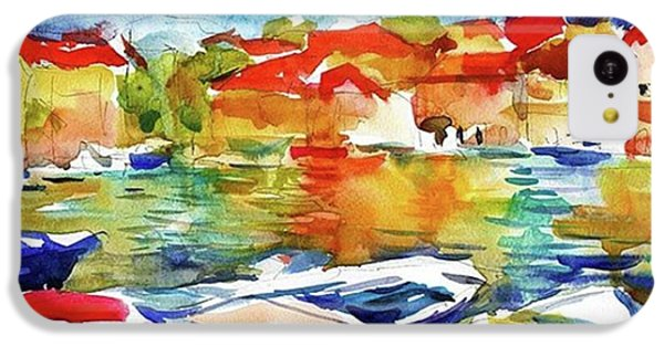 Watercolor Boats By Svetlana Novikova ( IPhone 5c Case
