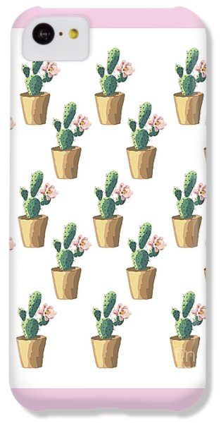 Watercolor Cactus IPhone 5c Case by Roam  Images