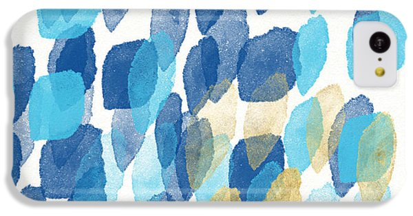 Waterfall- Abstract Art By Linda Woods IPhone 5c Case by Linda Woods