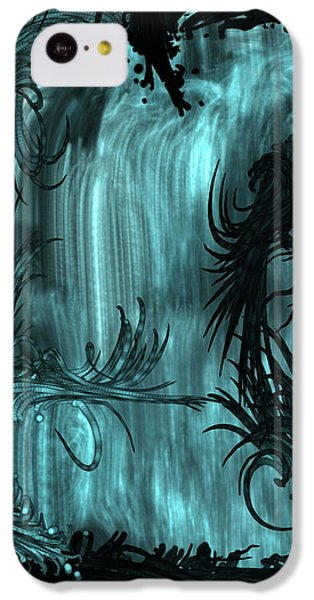 iPhone 5c Case - Waterfall by Orphelia Aristal