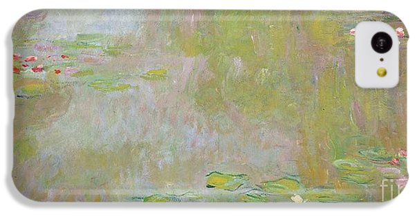 Lily iPhone 5c Case - Waterlilies At Giverny by Claude Monet