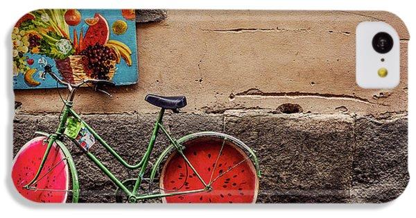 Watermelon Wheels IPhone 5c Case