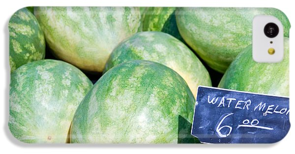 Watermelons With A Price Sign IPhone 5c Case by Paul Velgos