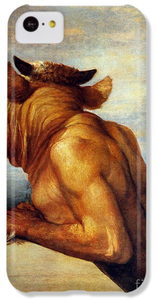 Minotaur iPhone 5c Case - Watts: The Minotaur by Granger