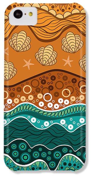 Waves IPhone 5c Case