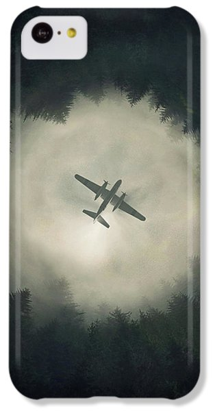 Airplane iPhone 5c Case - Way Out by Zoltan Toth