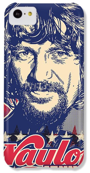 Waylon Jennings Pop Art IPhone 5c Case