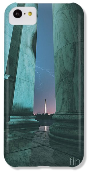 Washington Monument iPhone 5c Case - We Hold These Truths by Rami Ruhman