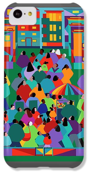iPhone 5c Case - We The People One by Synthia SAINT JAMES