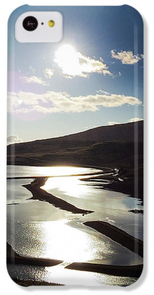 Sunny iPhone 5c Case - West Fjords Iceland Europe by Matthias Hauser