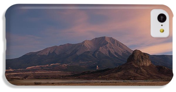 IPhone 5c Case featuring the photograph West Spanish Peak Sunset by Aaron Spong