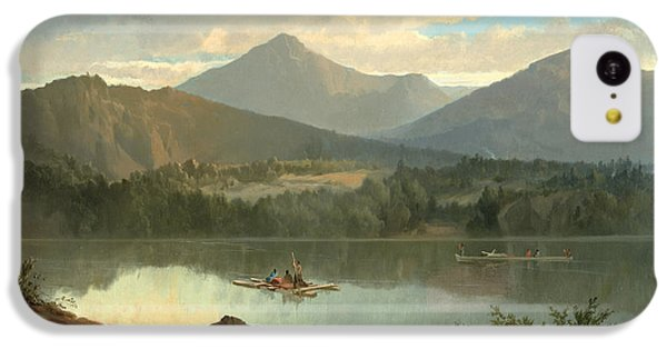 Mountain iPhone 5c Case - Western Landscape by John Mix Stanley