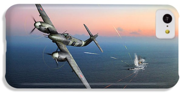 IPhone 5c Case featuring the photograph Westland Whirlwind Attacking E-boats by Gary Eason
