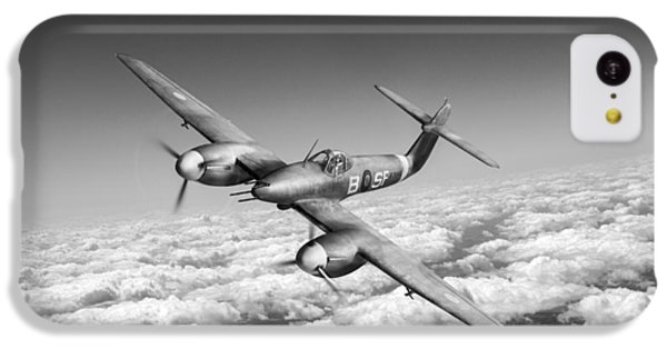 IPhone 5c Case featuring the photograph Westland Whirlwind Portrait Black And White Version by Gary Eason