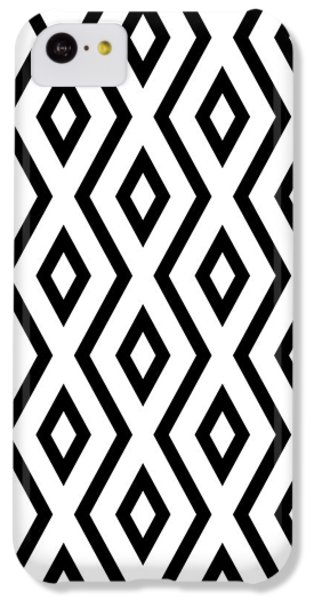 White And Black Pattern IPhone 5c Case