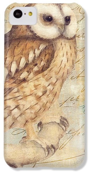 White Faced Owl IPhone 5c Case