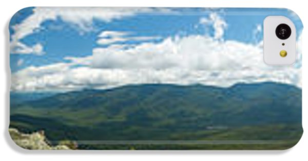 White Mountains Pano IPhone 5c Case by Sebastian Musial