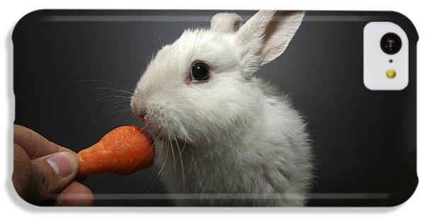 White Rabbit  IPhone 5c Case by Yedidya yos mizrachi