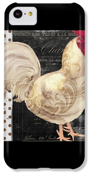White Rooster Cafe I IPhone 5c Case by Mindy Sommers