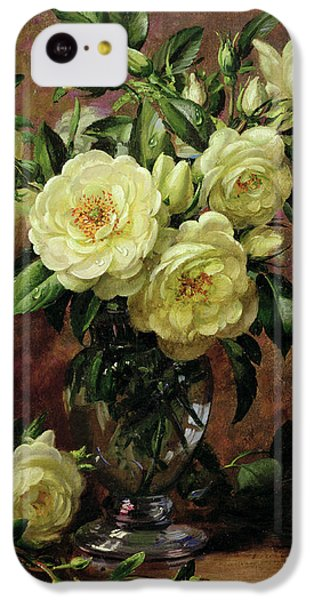 White Roses - A Gift From The Heart IPhone 5c Case