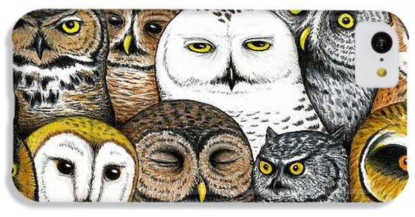 Who's Hoo IPhone 5c Case by Don McMahon
