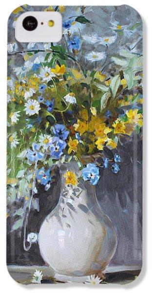 Wild Flowers IPhone 5c Case
