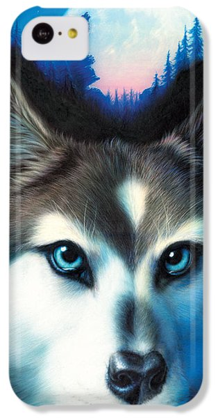 Portraits iPhone 5c Case - Wild One by Andrew Farley