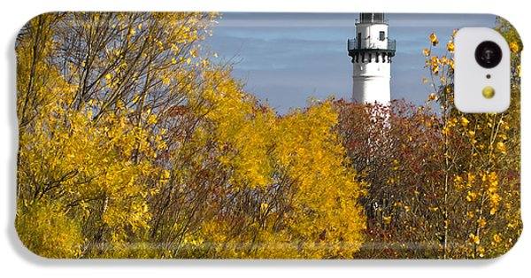 Wind Point Lighthouse In Fall IPhone 5c Case