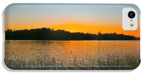Wilderness Point Sunset Panorama IPhone 5c Case by Gary Eason