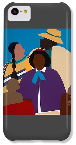 iPhone 5c Case - Wildfire A Tribute To Edmonia Lewis by Synthia SAINT JAMES